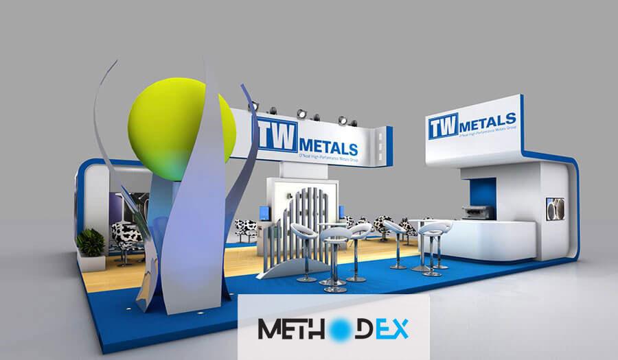 اندازه طراحی غرفه نمایشگاه و تأثیر آن بر اجرای غرفه