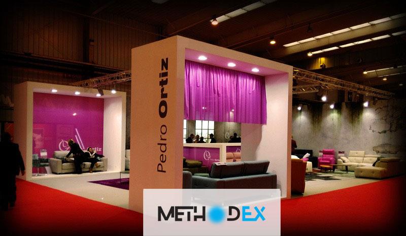 اندازه مناسب برای طراحی غرفه نمایشگاه