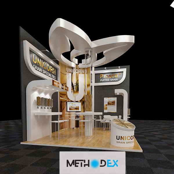 برای جذب مشتری در طراحی غرفه چيزي را حركت دهيد