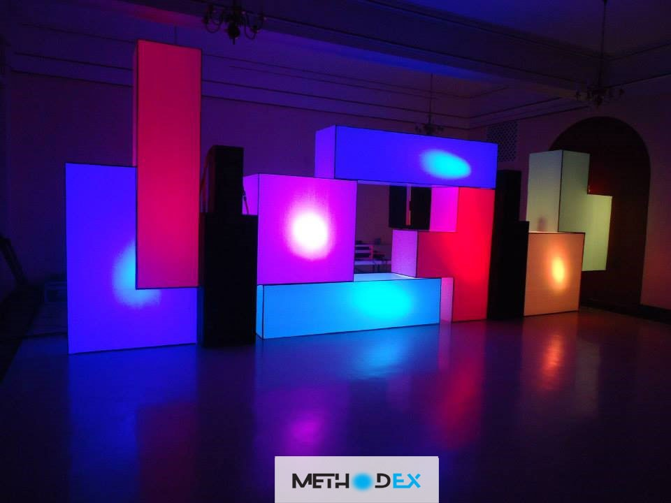 ویژگی های طراحی غرفه تتریس در نمایشگاه