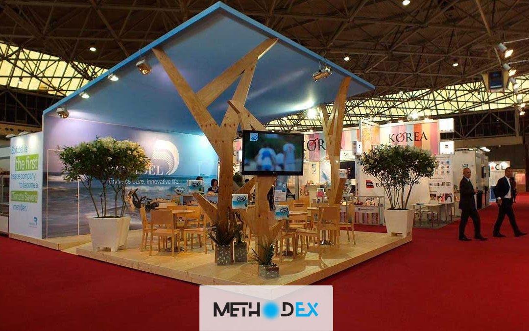 طراحی دکوراسیون غرفه نمایشگاهی