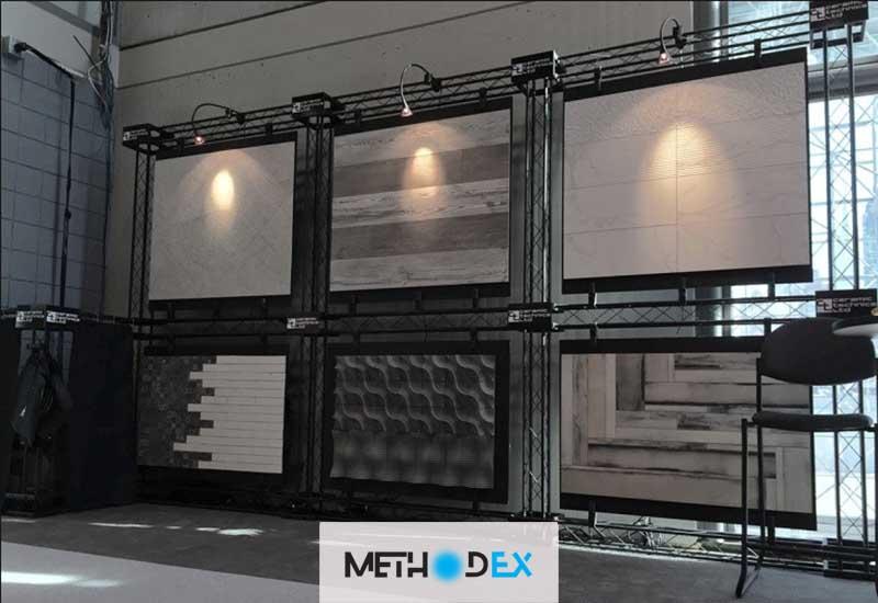 محاسن متریال نوین غرفه سازی