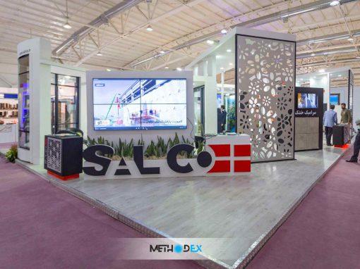 غرفه نمایشگاهی سالکو
