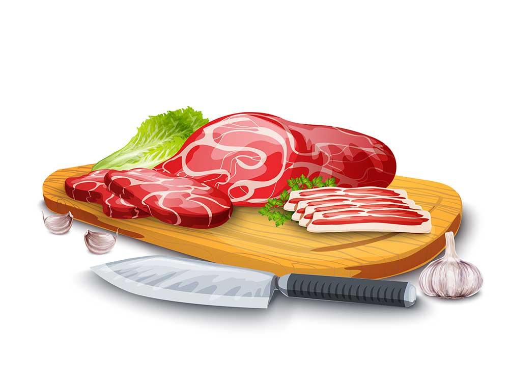 محصولات پروتئینی و گوشتی: